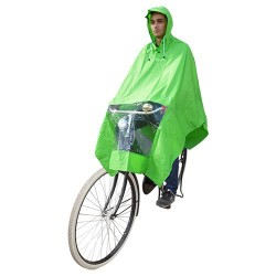 Hooodie Poncho Un-Taille-Fits-All Vert