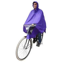 Hooodie Poncho Un-Taille-Fits-All Violet