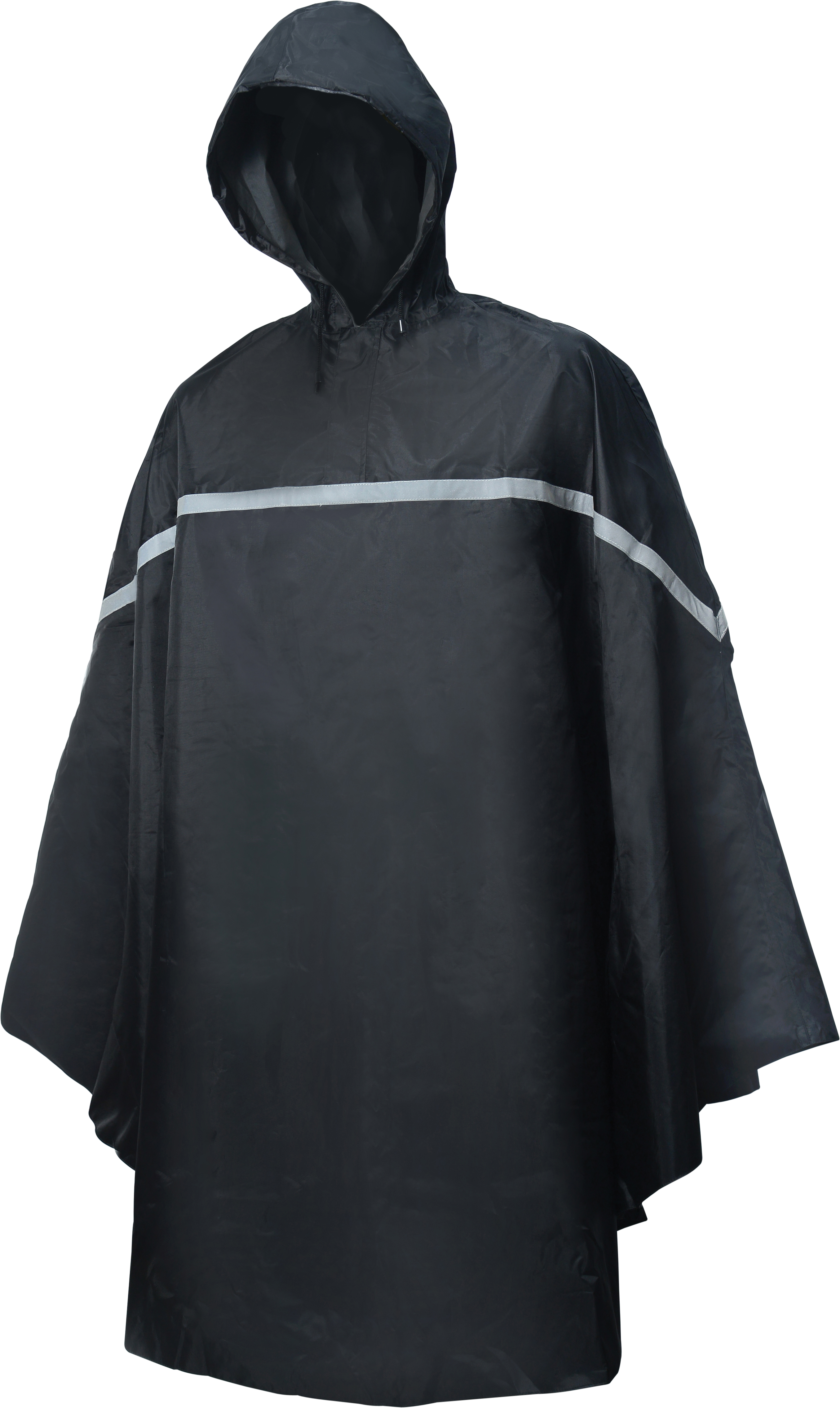 HBS Poncho Basic Noir - Taille S/M