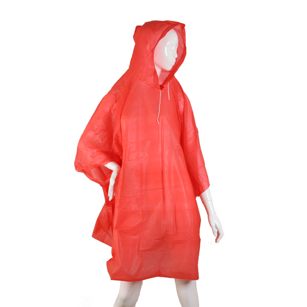 HBS Poncho Léger - Rouge