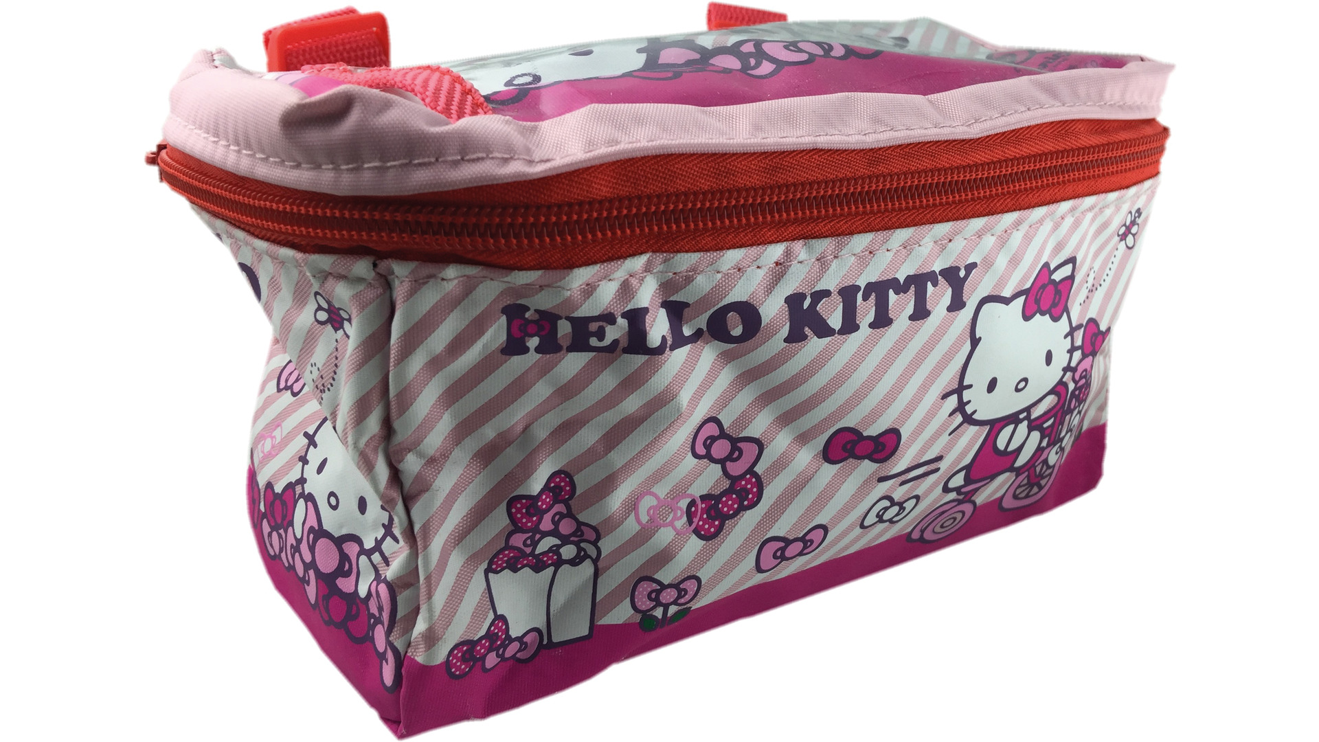Bike Fashion Enfant Sac De Guidon Hello Kitty Rose